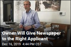 The Right Applicant Will Own Alaska Paper, Free of Charge