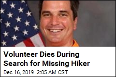 Volunteer Dies During Search for Missing Hiker