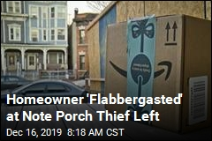 They Stole a Package From Her Porch. And Left a Note