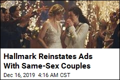 Hallmark Does U-Turn on Same-Sex Marriage Ads