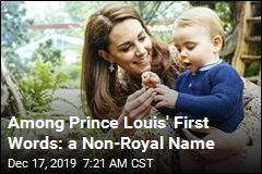Kate Spills on One of Prince Louis' First Words