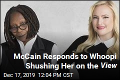 Here's What Meghan McCain Thinks of Whoopi Shushing Her