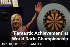 A Historic First at Darts Championship