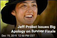 Jeff Probst Issues Big Apology on Survivor Finale