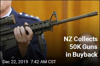 NZ Collects 50K Guns in Buyback