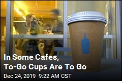 In Some Cafes, To-Go Cups Are To Go