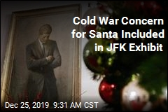 Cold War Concern for Santa Included in JFK Exhibit