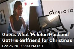 Guess What 'Peloton Husband' Got His Girlfriend for Christmas