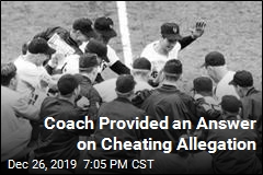 Coach Provided an Answer on Cheating Allegation