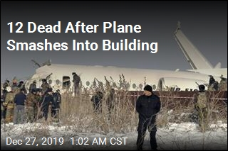 Plane Carrying 98 People Crashes in Kazakhstan
