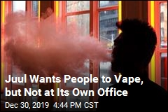 Juul Trying to Curb Vaping, at Least at Its Own Office