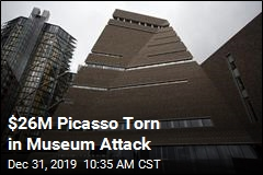 $26M Picasso Torn in Museum Attack