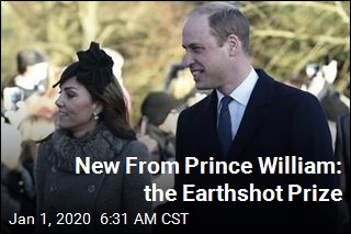 New From Prince William: the Earthshot Prize