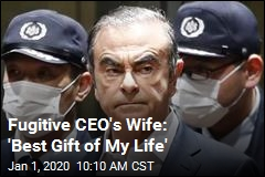 Fugitive CEO's Wife: 'Best Gift of My Life'