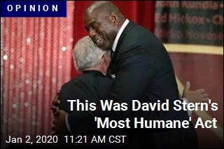 David Stern's 'Most Humane' Act Was Supporting Magic