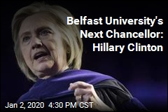 Belfast University's Next Chancellor: Hillary Clinton