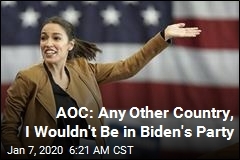 AOC Not Thrilled Being in Same Party as Joe Biden