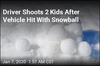 Driver Shoots 2 Kids After Vehicle Hit With Snowball