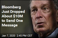 Bloomberg Just Dropped About $10M to Send One Message
