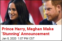 Prince Harry, Meghan Make 'Stunning' Announcement