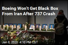 Iran Refuses to Give Boeing Black Box for Investigation