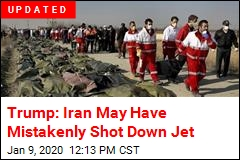 US Now Thinks Iran Shot Down Passenger Jet