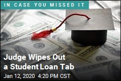 Judge Overturns Myth, Wiping Out a Student Loan Tab