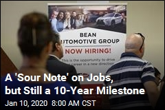 A 'Sour Note' on Jobs, but Still a 10-Year Milestone