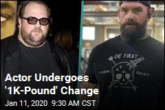 Actor Undergoes '1K-Pound' Change