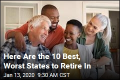 Here Are the 10 Best, Worst States to Retire In