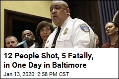In One Day, 12 People Are Shot in Baltimore, 5 of Them Fatally