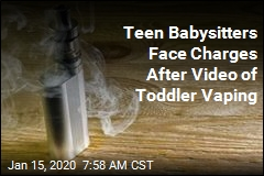 Teen Babysitters Face Charges After Video of Toddler Vaping