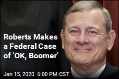 'OK, Boomer' Makes Its Debut at Supreme Court