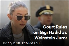 Court Rules on Gigi Hadid as Weinstein Juror