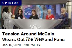 The View Has Been Exhausted by the Meghan McCain Tension