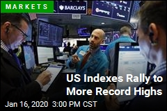 US Indexes Rally to More Record Highs