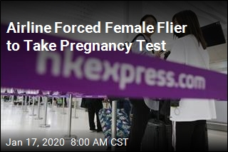 Airline Forced Female Flier to Take Pregnancy Test