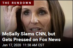 McSally Slams CNN, but Gets Pressed on Fox News