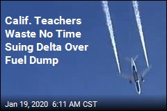 Calif. Teachers Sue Delta Over Jet Fuel Dump