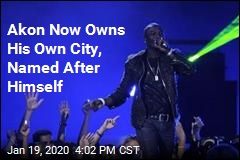 Akon Now Owns His Own City, Named After Himself