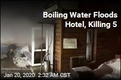 5 Killed After Hotel Heating Pipe Bursts