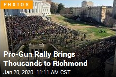 Pro-Gun Rally Brings Thousands to Richmond