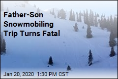 Teen Killed in Avalanche While Snowmobiling With Dad