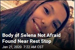 Body of Selena Not Afraid Found Near Rest Stop