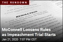 One Definite in Impeachment Trial: Silent Senators