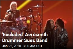'Excluded' Aerosmith Drummer Sues Band