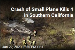 Small Plane Crashes at Airfield, Killing 4