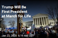 Trump Will Be First President to Attend DC March for Life
