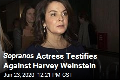 Sopranos Actress Testifies Against Harvey Weinstein