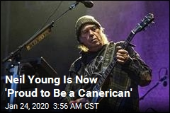 Neil Young Is Now an American
